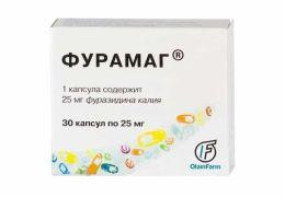 Вылечить цистит поможет антибиотик Фурамаг