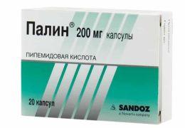 Как применяется препарат Палин при цистите?