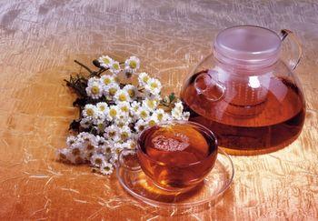 травяной чай при цистите