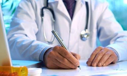 После подтверждения диагноза врач назначает антибиотики