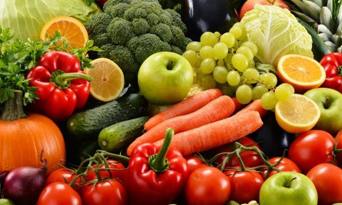 Питание при цистите должно основываться на овощах и фруктах
