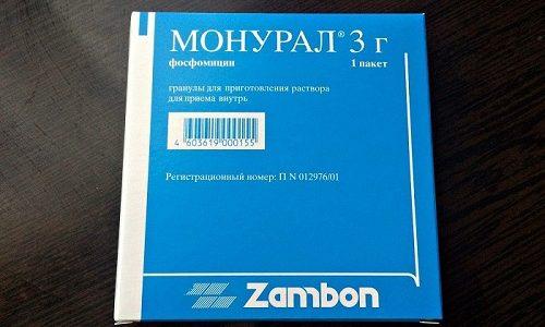 Препарат Монурал часто назначают для лечения острого цистита у женщин