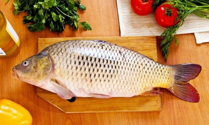 Желательно готовить блюда из речной рыбы