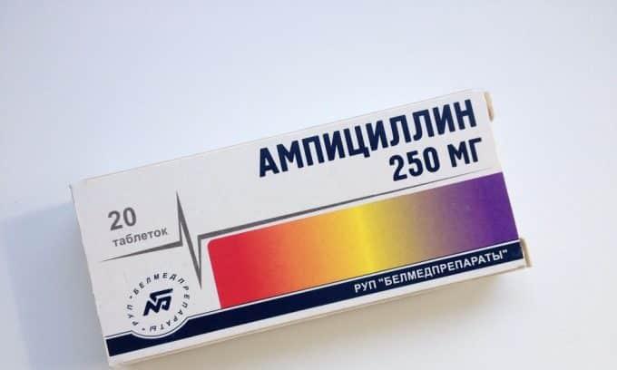 Ампициллин не имеют побочных эффектов и противопоказаний, кроме аллергических реакций и гиперчувствительности организма больного