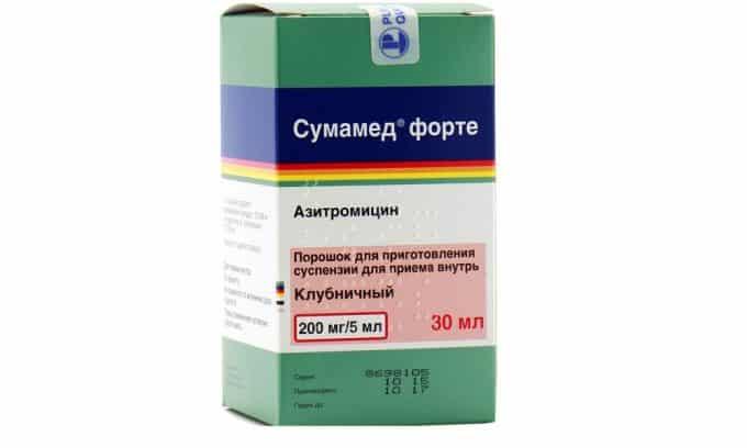Врачи назначают медикаменты из группы макролидов: Сумамед