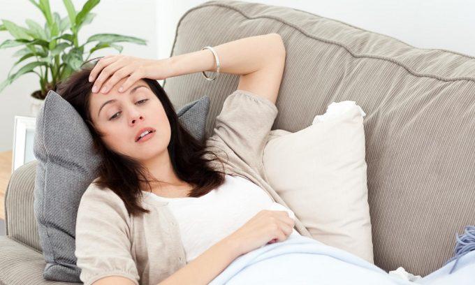 Симптом посткоитального цистита - слабость