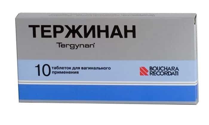 Препарат Тержинан при цистите: инструкция по применению