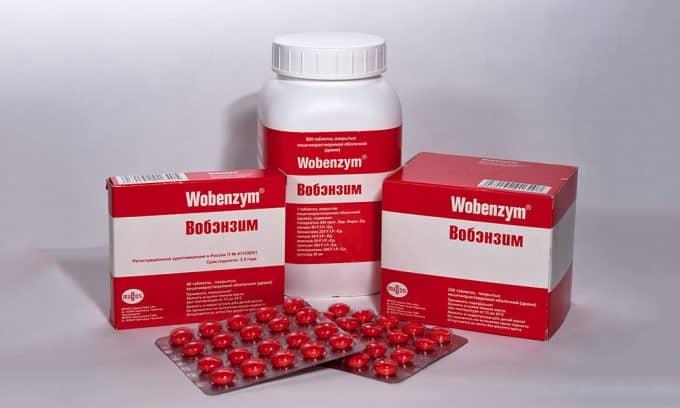 Вобэнзим улучшает проницаемость стенок сосудов и метаболические процессы в соединительной ткани мочевого пузыря